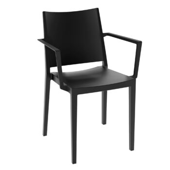 14140401-stapelstoel-elegance-met-armleuning-zwart_2