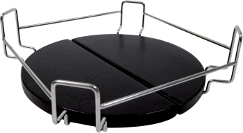 Bastard plate setter square kamado