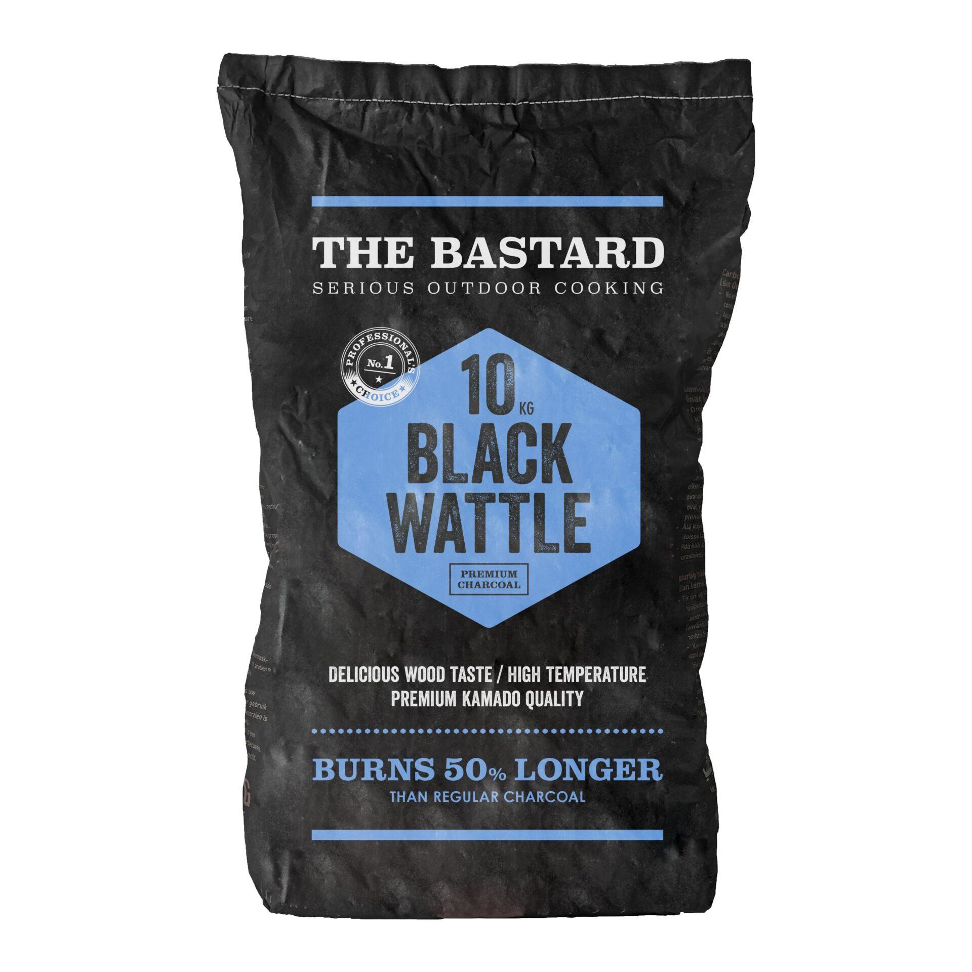 The Bastard black wattle houtskool