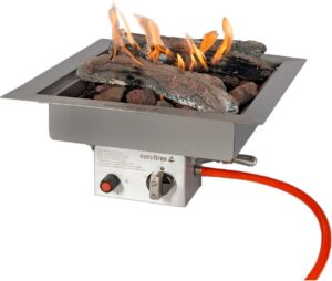 Easyfires inbouwbrander 40x40